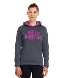 Under Armour Women's UA Battle Hoodie Medium Lead