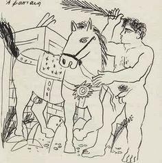 Alekos Fassianos Artsy, Drawings, Painting, Draw, Photos, Painting Art, Sketches, Paintings, Drawing