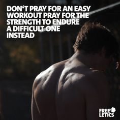 Never look for the easy way out. Every now and again you will be tempted. This may mean giving it only 80% during a workout. Or getting sloppy when it comes to executing the exercises. But that is not the way a Free Athlete works. We give it our all each and every time. We don't look for easy. We look for strength to do the difficult. ►►► www.frltcs.com/Athlete