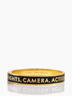 """Lights, Camera, Action!"" 