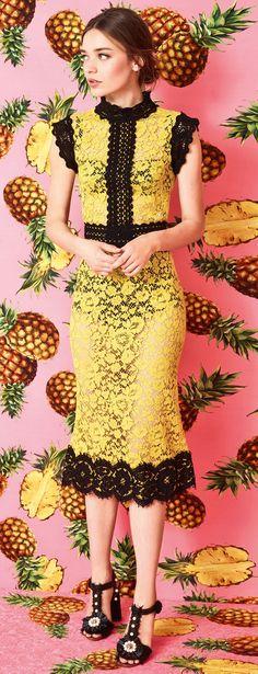 Dolce & Gabbana Spring Summer 2017 Collection Tropical City - #blouse
