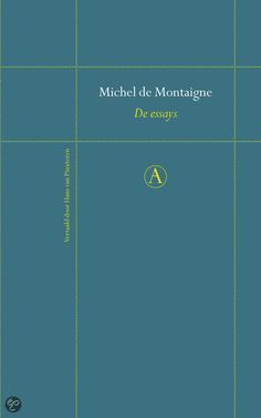 de essays michel de montaigne