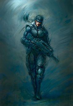 Metal Gear Illustrations by Mikajima