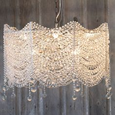 Fabian Chandelier - because you have to have some sparkle. #anthropologie #pintowin
