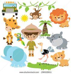 Safari vector illustration