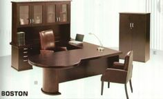 We supply a wide variety of office desks from open plan office desks to boardroom tables. Office desks for any application. Browse our office desk range. Office Furniture, Office Desk, Corner Desk, Boston, Wood, Table, Desks, American, Home Decor