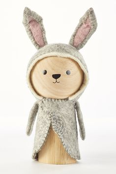 Zoo Modern - Bailey Bear Wooden Animal - Bella Luna Toys seven to eight inches high and has a hefty, solid weight - Wood Peg Dolls, Clothespin Dolls, Woodworking For Kids, Woodworking Crafts, Woodworking Quotes, Woodworking Basics, Woodworking Logo, Woodworking Workbench, Woodworking Furniture