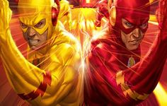 The Flash Wallpaper for iPhone Cool Duel