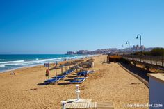 Playa de La Mata is beach in Torrevieja, Alicante, Spain. Map and Photos for La Mata and other beaches in the area are available. Alicante, Murcia, Torrevieja, Places Ive Been, Europe, Adventure, Nice Things, Beaches, Water