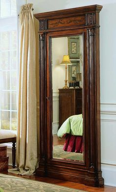 Floor Mirror with Jewelry Armoire Fell in love with these when I