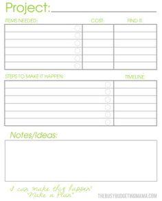 printable project planning sheets koni polycode co