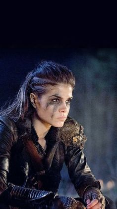 Marie Avgeropoulos as Octavia Blake in The 100 (The CW