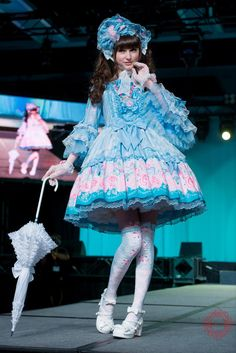 ♡♣ank mint kismet rouge♠♢ |  Angelic Pretty fashion show