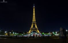 Buonanotte da una stupenda serata a Parigi!  Foto ricordo by fan © Claudio Ciardi Tour Eiffel, Tower, Building, Travel, Viajes, Computer Case, Buildings, Towers, Eiffel Towers
