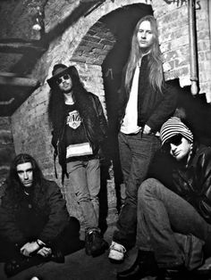 Alice in Chains Looks like they're I. The Seattle Underground!