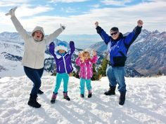 How YOU can get your entire family up to the tippy-top of the mountain, even your little ones and old people.  AND you can do it for (almost) FREE!