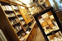 Point of Sale INVENTORUM in Aktion: Cigarrenmagazin Unter den Linden in Berlin. #Einzelhandel #Kassensystem