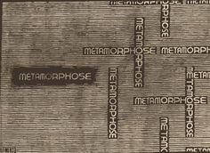 Metamorphose  ANIMATION, M.C. ESCHER