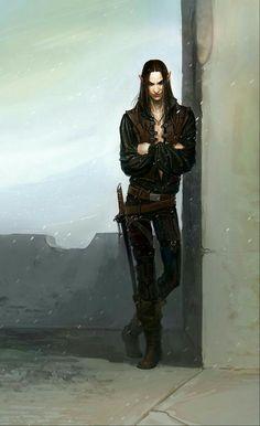Lorin, o paria; um dos muitos ladrões de Exili