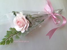 Eco-Chic, everlasting keepsake rose. Made by hand, petal by petal. Perfect gift for Dance Recital, Acting or Skating Performance - a great  keepsake for someone special!