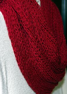 Cranberry Crush Cowl By Kay Hopkins - Purchased Knitted Pattern - (ravelry)