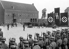 Koning Willem I kazerne tijdens de Duitse bezetting