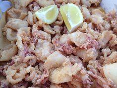 come avere frittura di calamari croccante