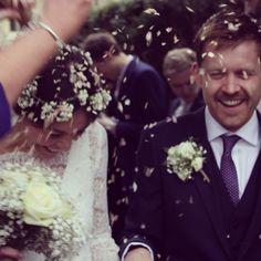 Beautiful Cicily Bride in Charlie Brear