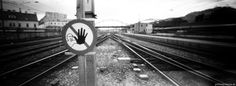 Exposure Time, Vienna, Railroad Tracks, Train Tracks