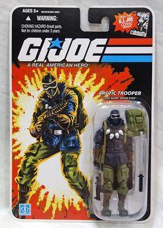 Joe Cobra 25th Anniversary MOC ARAH Snow Serpent Polar Assault Trooper 2005 G.I