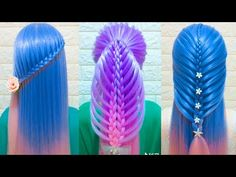 Easy Hair Style for Long Hair TOP 26 Amazing Hairstyles Tutorials Compilation 2018 Part 25 Cute Little Girl Hairstyles, Cool Hairstyles For Girls, Easy Summer Hairstyles, Easy Updo Hairstyles, Natural Hairstyles For Kids, Amazing Hairstyles, Wedding Hairstyles, Hairstyles Videos, 2015 Hairstyles