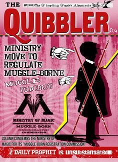 Here is finally The December Edition of The Quibbler. I do apologize for not releasing it earlier , but I did put more work into it and added more details then there was in the original. You could ...