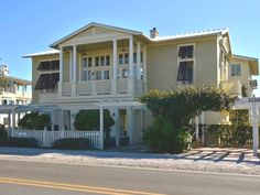 """Book """"Stay a Little Longer,"""" a 4-bedroom vacation rental in Seaside, FL that will sleep 8. Book online or over the phone."""