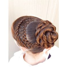 Dance hair 🎀 braid combo: 4 strand lace braid + dutch lace braid + rope twist bun 😋😊 and I am now a model 🎉🎉 so I added one of my new amazing bows from her 👌🏼 Dance Hairstyles, Little Girl Hairstyles, Pretty Hairstyles, Braided Hairstyles, School Hairstyles, Updo Hairstyle, Wedding Hairstyles, Braided Updo, Twist Bun