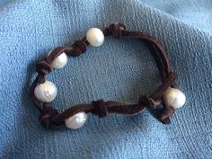 A personal favorite from my Etsy shop https://www.etsy.com/listing/246064208/pearl-knotted-bracelet-knotted-jewelry