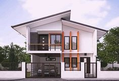 rustic home decor uk using example house exterior design with paint design for house outside for house plans for modern bungalow Modern Zen House, Modern Bungalow House Design, Modern Small House Design, Small House Exteriors, Small Modern Home, Minimalist House Design, Modern House Plans, Cool House Designs, Modern Homes