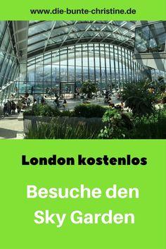 London kostenlos: Sky Garden (Low Budget Tipp)