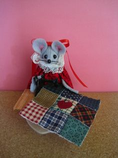Quilter at a Sewing Machine by atticmouse on Etsy, $13.00