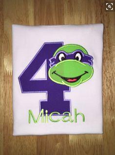 Teenage mutant ninja turtle shirt