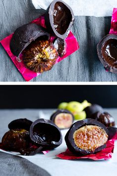 Chocolate Covered Fresh Figs