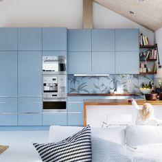 Die 13 Besten Bilder Von Hellblaue Küchen Light Blue Kitchens