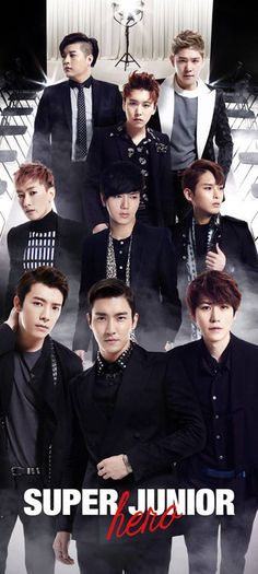 Super Junior // Hero Come visit kpopcity.net for the largest discount fashion store in the world!!
