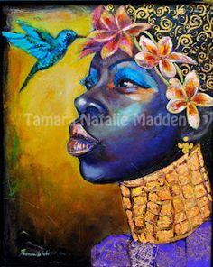"Artist: Tamara Natalie Madden  Titled: ""Honeysuckle"""