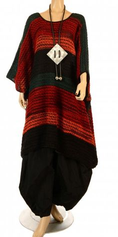 Striking new season oversize style knit from the fabulous Yiannis Karitsiotis! VISIT OUR WEB STORE - www.idaretobe.com