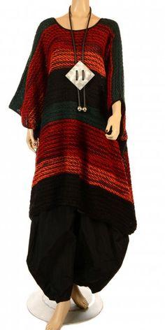 Striking new season oversize style knit from the fabulous Yiannis Karitsiotis! VISIT OUR WEB STORE - www.idaretobe.com