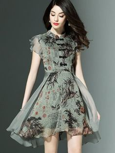 Tidebuy is an online shopping mall, buying fashion dresses & rapid delivery. Clothing manufacturer, designed dresses, quality electronics, hair wigs and more. Stylish Dresses For Girls, Frocks For Girls, Stylish Outfits, Casual Dresses, Short Dresses, Floral Dresses, Pretty Dresses, Beautiful Dresses, Style Chinois