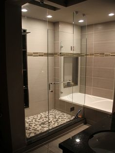 Bathroom Tiled Showers Design, Pictures, Remodel, Decor and Ideas - page 6