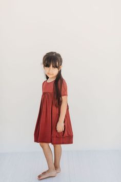 These are the cutest and coziest dresses for little girls. They will seriously want to live in them! A must have for back to school! Toddler Girl Style, Toddler Girl Outfits, Toddler Fashion, Kids Outfits, Kids Fashion, Toddler Girls, Little Girl Models, Little Girl Outfits, Little Girl Fashion