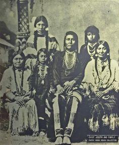 Chief Joseph and family. photo - Monte Dodge photos at pbase.com
