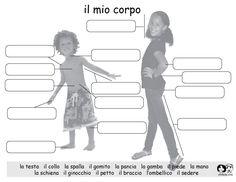 Italian Printout - My Body